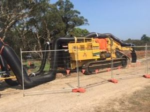 Green Civil Trenching Project - T1055 with JMS-20-MDT