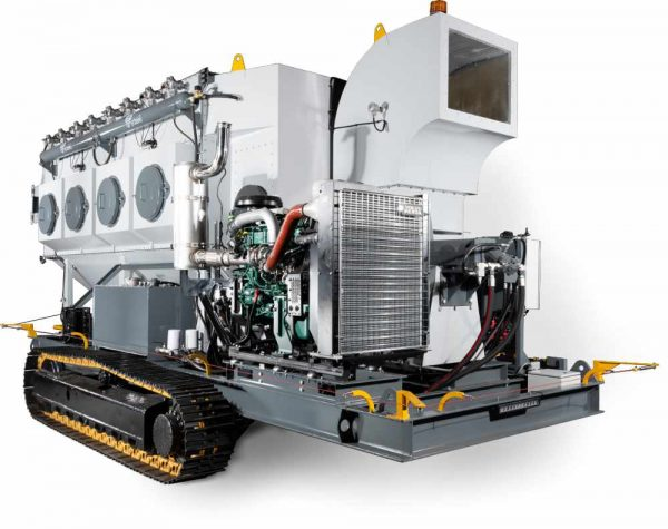 Mobile Diesel Track Dust Collection Solutions