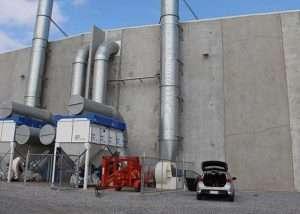 Bulk Storage Dust Control NSS