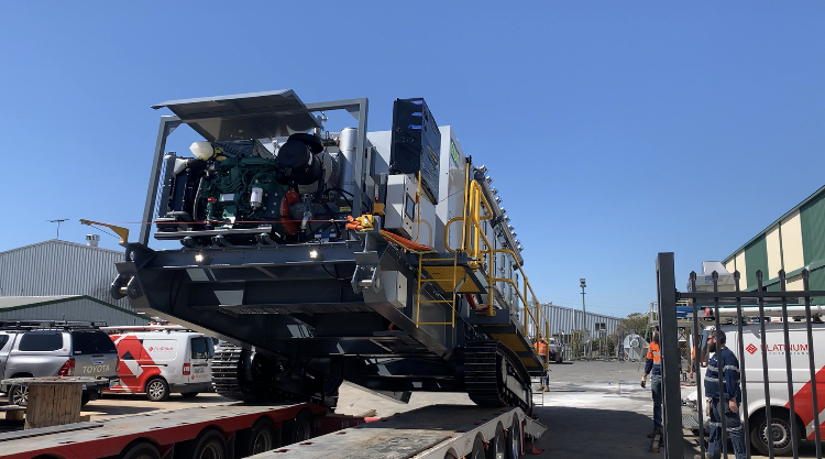 Another Grydale unit on-route to Sydney tunnelling project