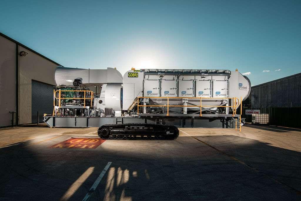 Mobile Diesel Track Dust Collector JMS-50-MDT
