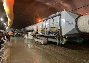 Ventilation & Dust Control in Tunnel Construction