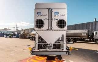 Dual Air Intakes JMS 20 MDT Mobile Diesel Track Dust Collector