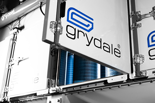 a key feature of the Grydale range is the high efficiency filters