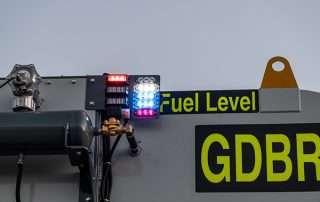 Fuel Level Indicator Lights JMS 50 MDT