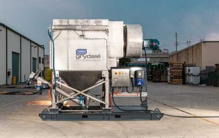 JMS 10 MES Mobile Electric Skid Dust Collector