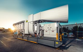 JMS 50 MHS Mobile Hybrid Stepping System Dust Collector
