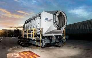 JMS 50 Mobile Diesel Track Dust Collector
