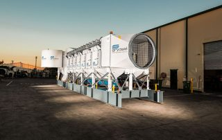 JMS 60 MHS Mobile Electric Skid Dust Collector