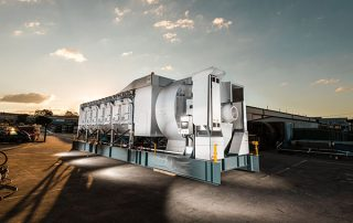 JMS 60 Mobile Electric Skid Dust Collector