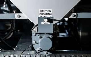 Proximity Sensor on JMS 20 Mobile Diesel Track Dust Collector