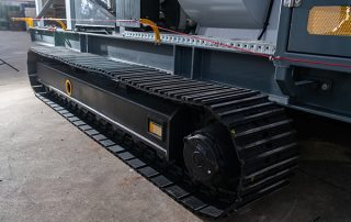 Track Mounted Mobile Dust Collector JMS 10 MDT