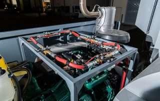 Volvo diesel engine JMS 30 Mobile Diesel Track Dust Collector