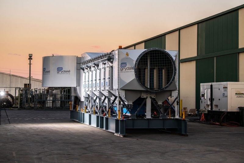 JMS 60 MES Mobile Dust Collector
