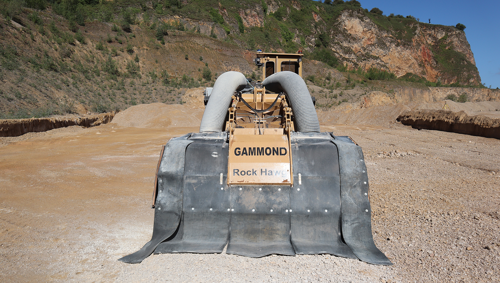 Tesmec Rock Hawg Surface Miner
